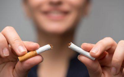 Helemaal geen behoefte meer aan een sigaret