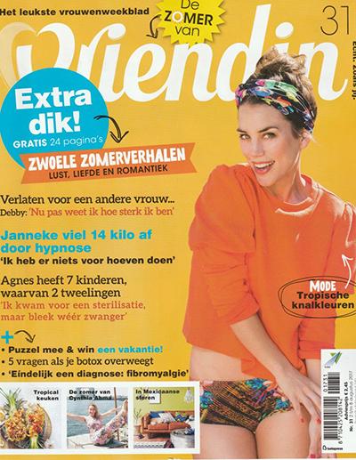 magazine: Vriendin: Afvallen