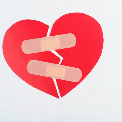 Liefdesverdriet overwonnen